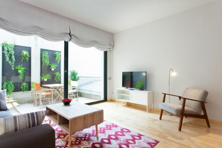 Appartement te huur in Barcelona General Alvarez Castro - Catedral