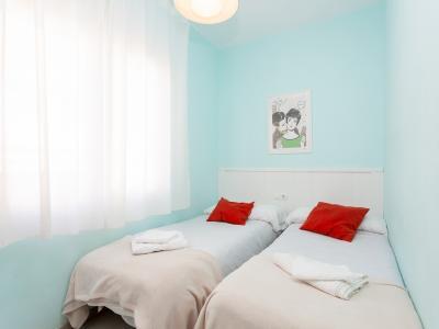 Appartement te Korte termijn huren in Hospitalet Castelao - Santa Eulàlia