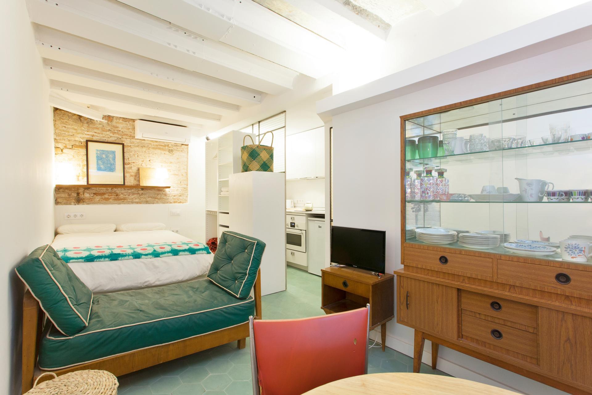 Shbarcelona alquiler loft por temporadas mensuales el born - Alquiler piso por meses barcelona ...