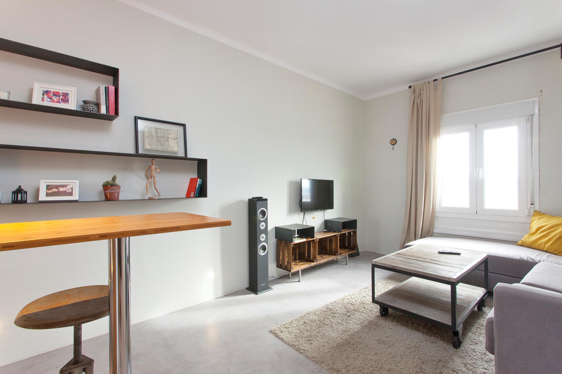 Affittasi appartamento in zona tranquilla di Barcellona
