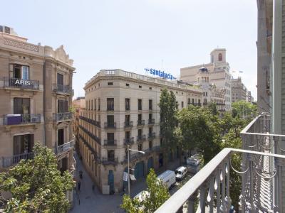 Wohnung zur Kurzfristige Vermietung in Barcelona Fontanella - Plaza Catalunya