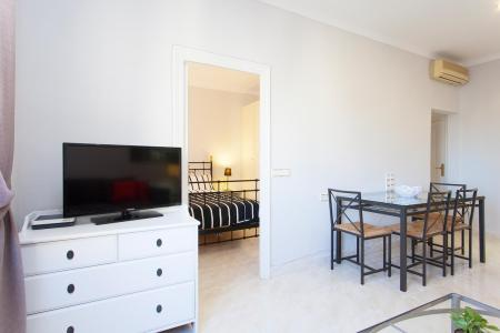 Comfortable flat for monthly rental with two bedrooms