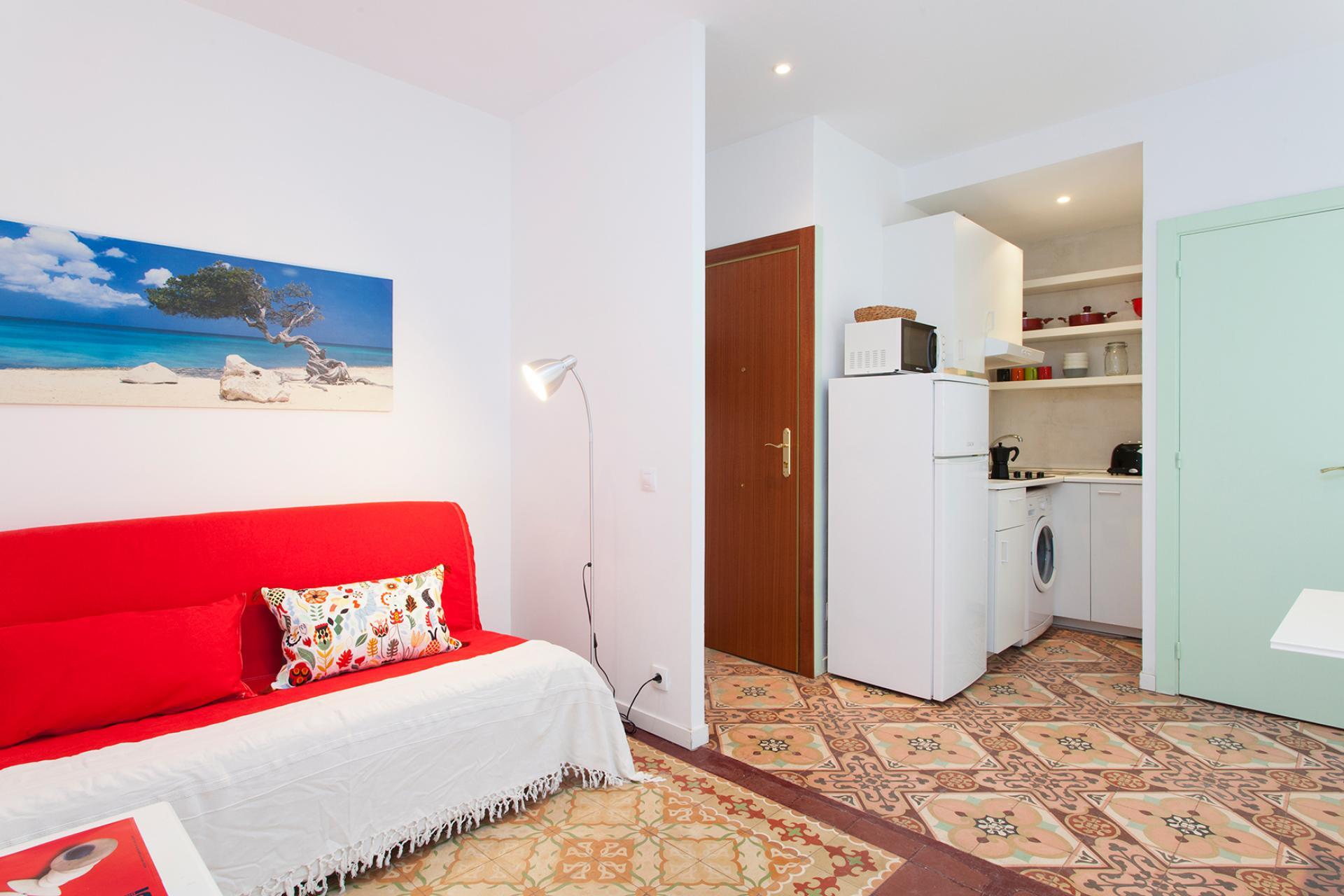 Piso de alquiler mensual en Barceloneta - Del Mar
