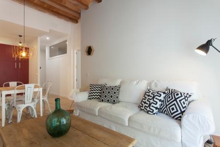 Superbe appartement avec deux chambres et balcons