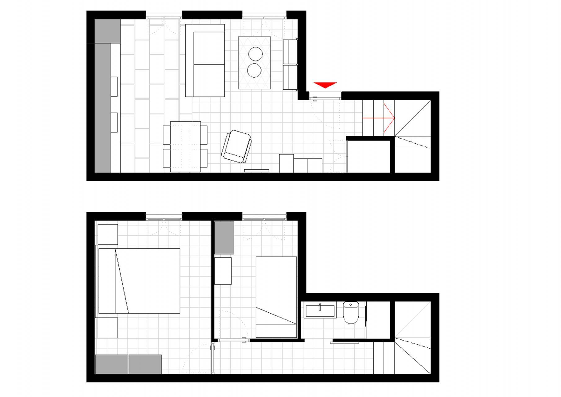 Apartamento duplex para alugar na rua Sant Miquel
